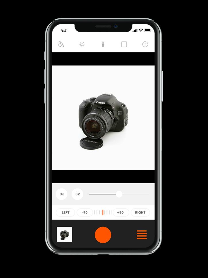 foldio360 mobil app