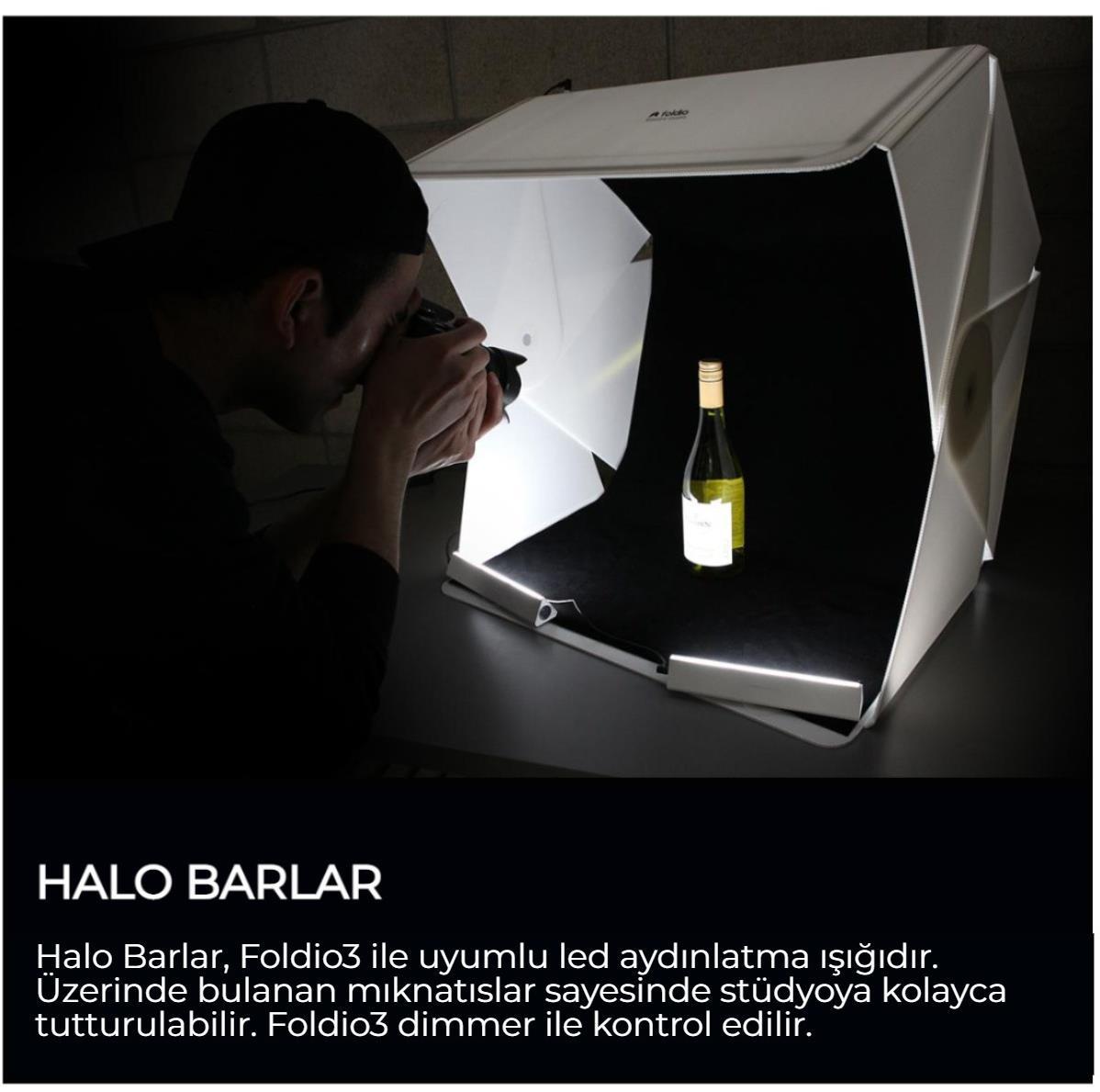 Foldio3 Halo Ba rOrtalı Resim